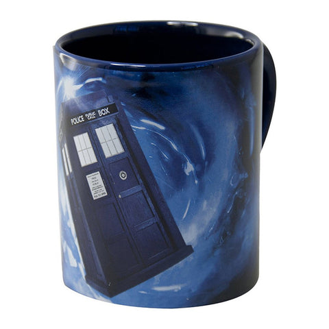 Doctor Who 12 Ounce Hidden Tardis Mug -  -  Little British Shop