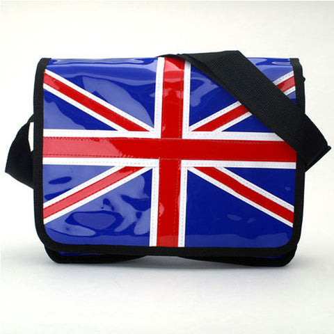 British Union Jack Flag Messenger Bag -  -  Little British Shop