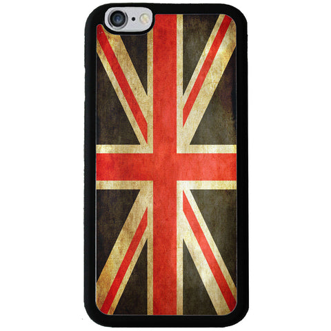 Union Jack UK Grunge Style Flag - Rubber Phone Case Cover - Samsung Galaxy S5 -  Little British Shop - 1