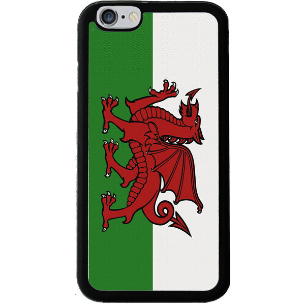Welsh (Cymru) Red Dragon Flag - Rubber Phone Case - iPhone 6/6s -  Little British Shop - 1