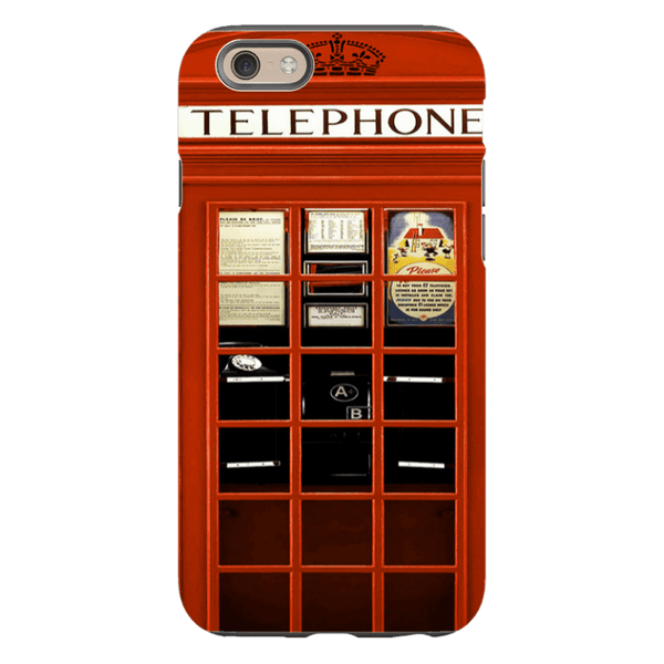 iPhone 6/6s-H.M. British Red Telephone Box - Tough Dual Layer Protected Phone Case
