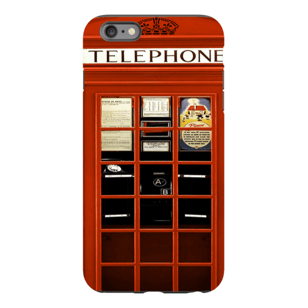 iPhone 6/6s Plus-H.M. British Red Telephone Box - Tough Dual Layer Protected Phone Case