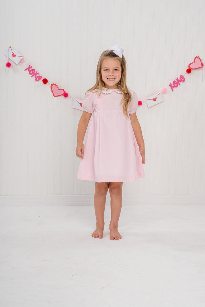 Josie Embroidered Heart Dress