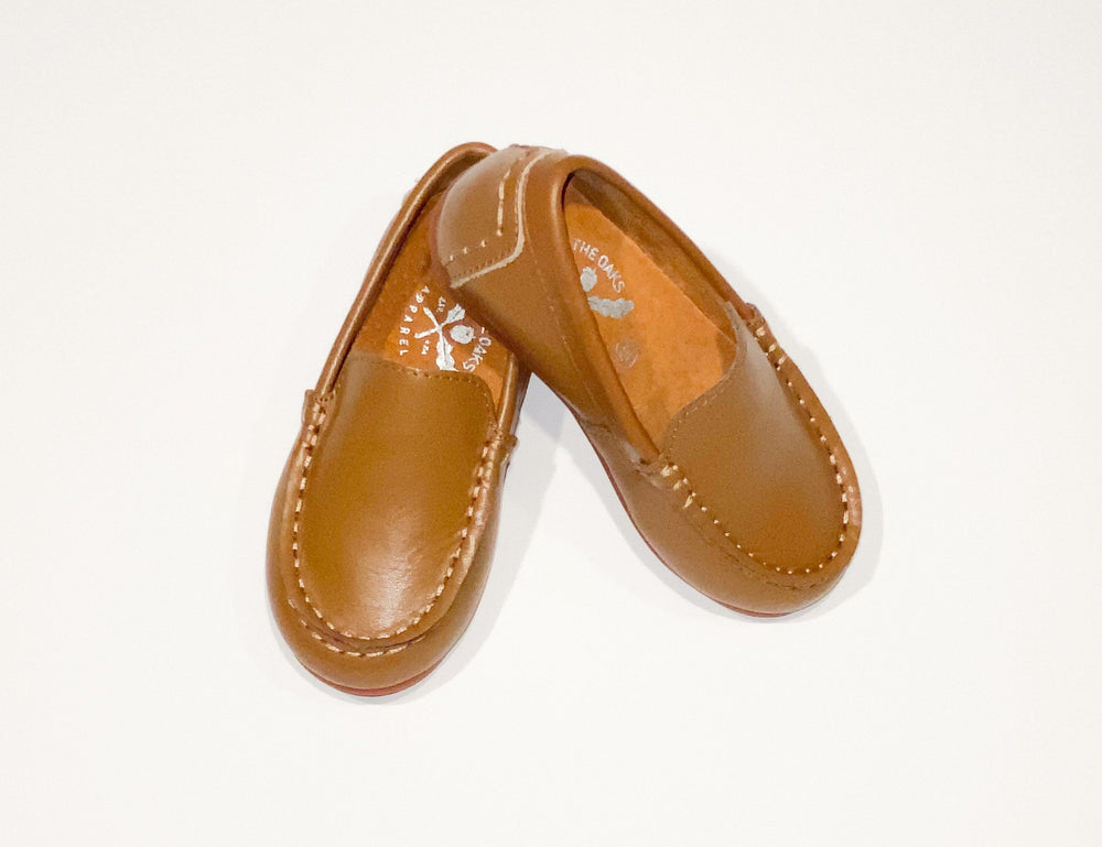 Boys Brown Leather Loafer SS20