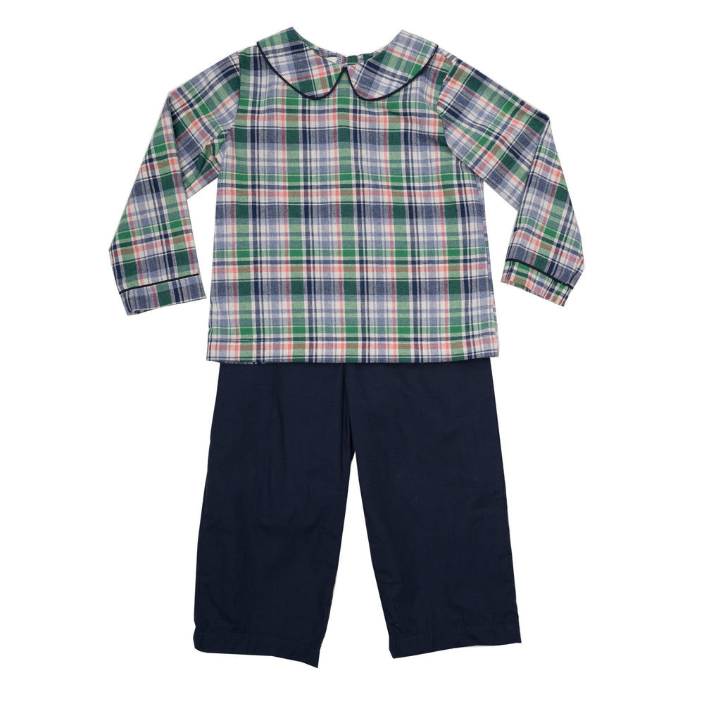 Andrew Navy Pant Set