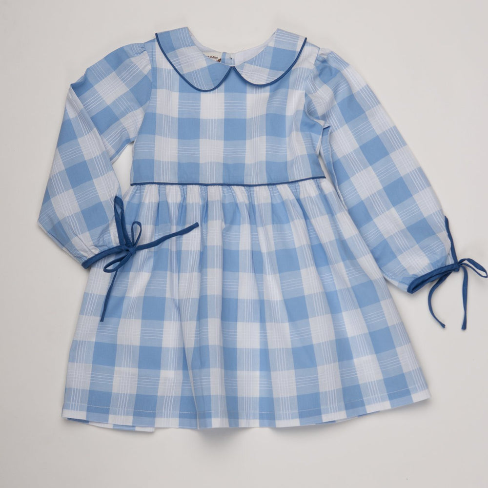 Bridget Blue Buffalo Check Dress