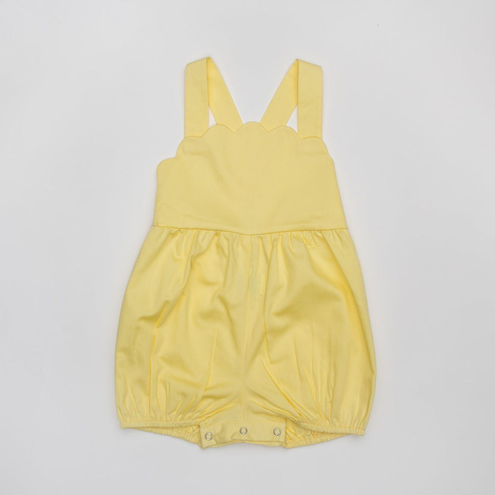 Brooke Yellow Sunsuit