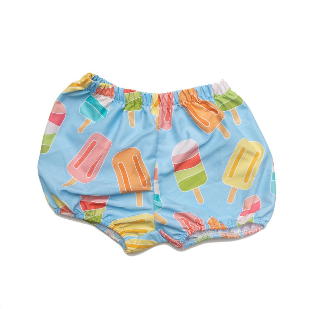 Cap Ice Cream Bloomer Swimsuit