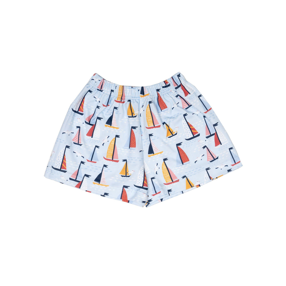 Boys Pima Sailboat Shorts *Online Exclusive*