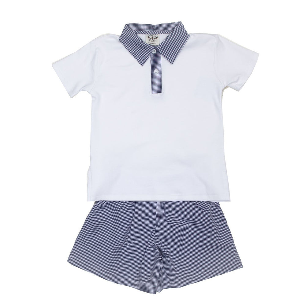 Ellis Navy Short Set