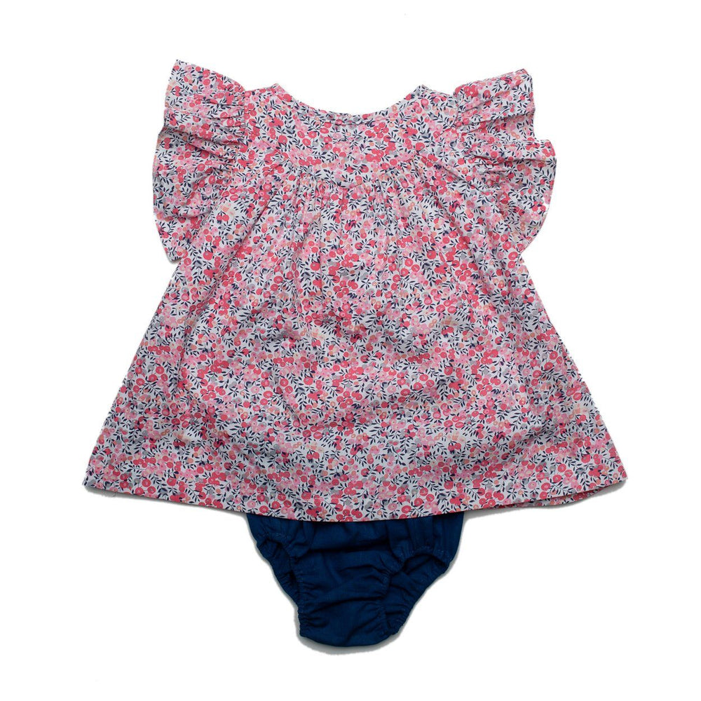 Gabriella Poppy Bloomer Set