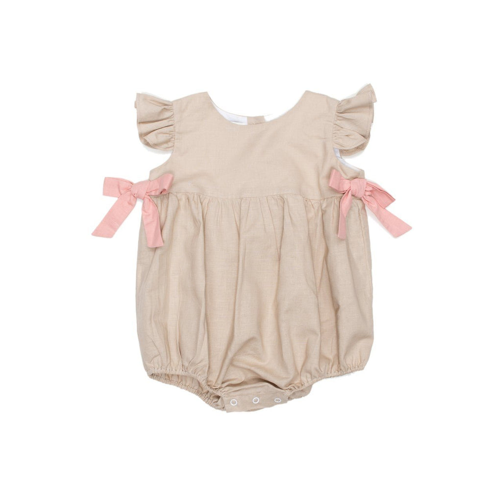 Hailey Tan Linen Bubble