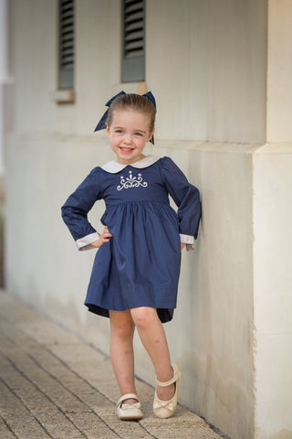 Abbie Kate in Navy, Fall 16