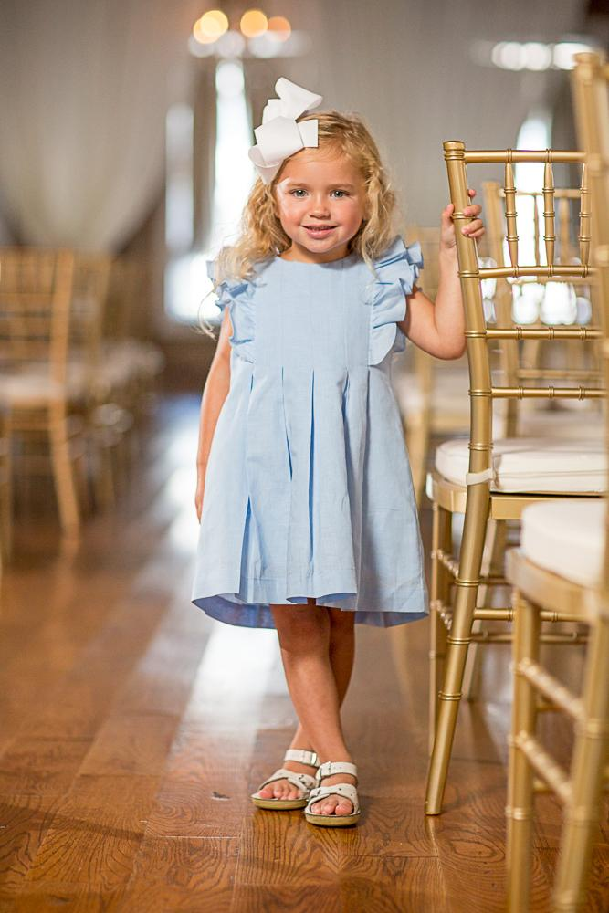 Braleigh Blue Linen Dress SS18-