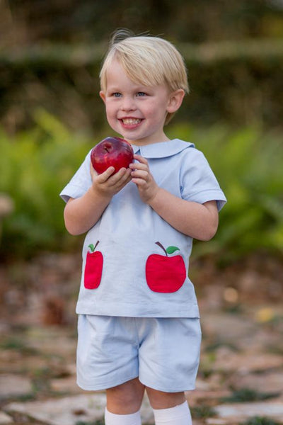 """Bradley"" Apple Pocket Short Set Fall18 Fave"