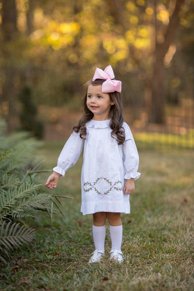 """Bella Long Sleeve"" Girls Dress Fall18"