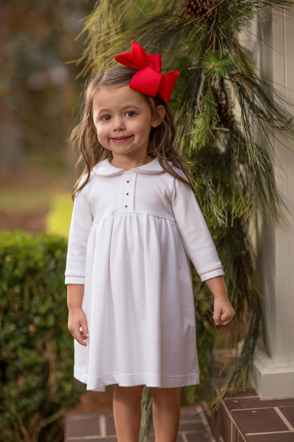 """Sissy"" Girls Dress Christmas"