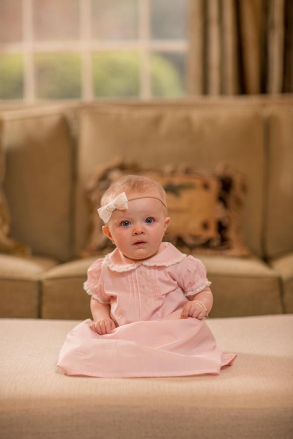 """Scarlette Clair"" Infant Gown Fall18"