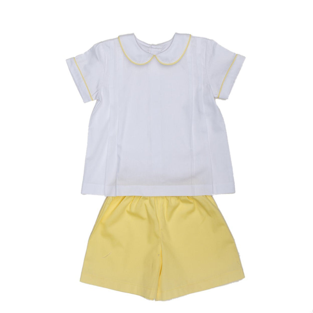 Key Yellow Short Set