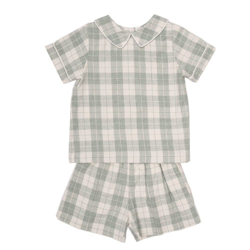 Knox Green Short Set