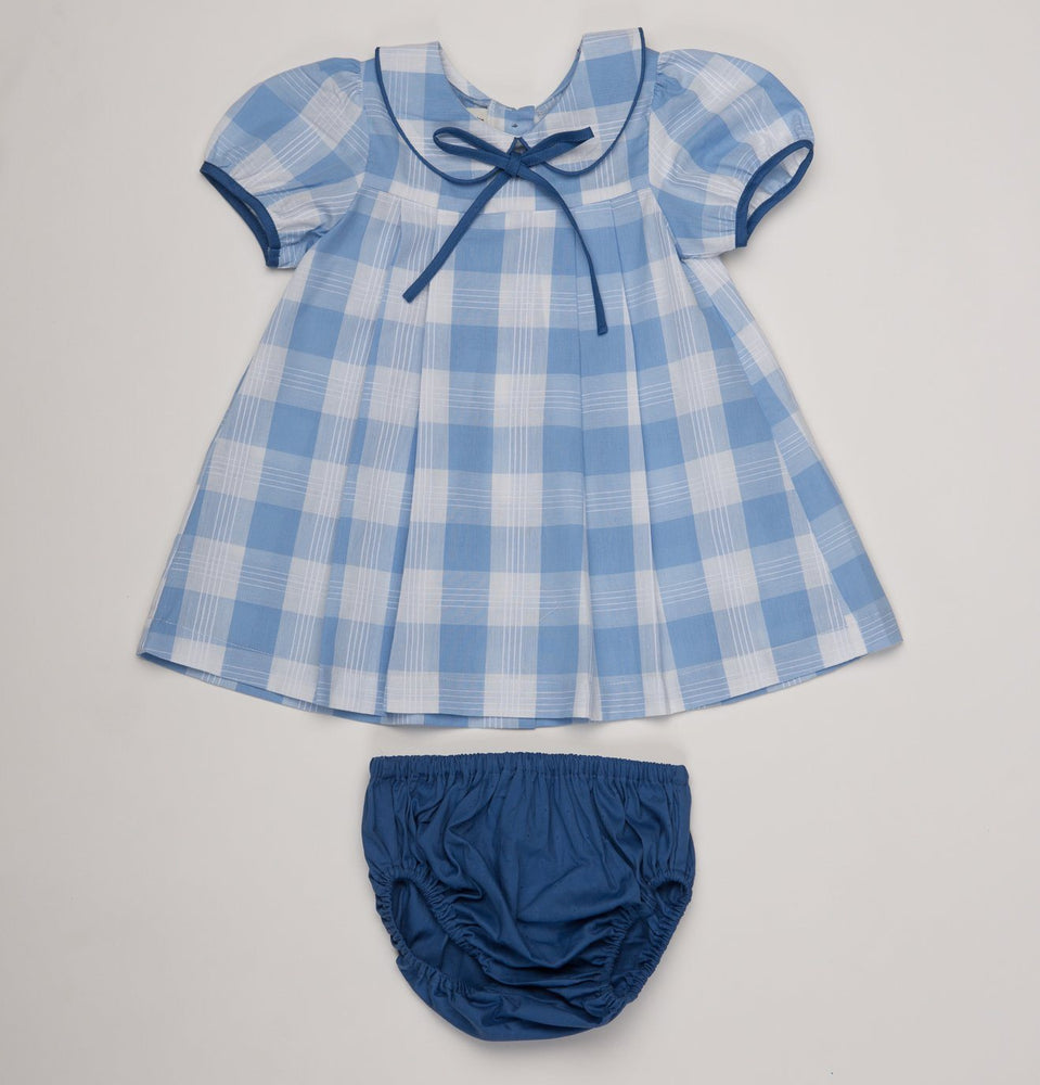 Lila Kate Blue Buffalo Check Set