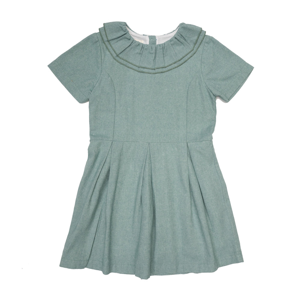 Louise Evergreen Dress