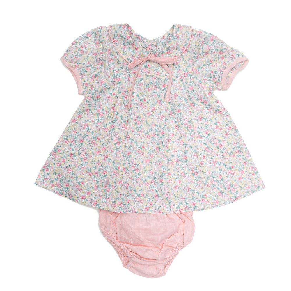 Marjorie Light Pink Bloomer Set