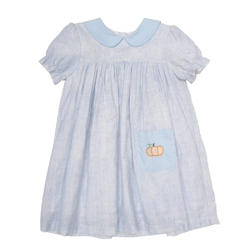 Nina Blue Pumpkin Dress