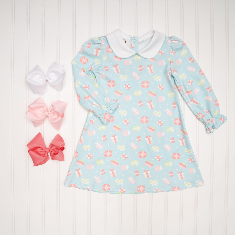 Abbie Kate Present Dress made with Peruvian Pima Cotton
