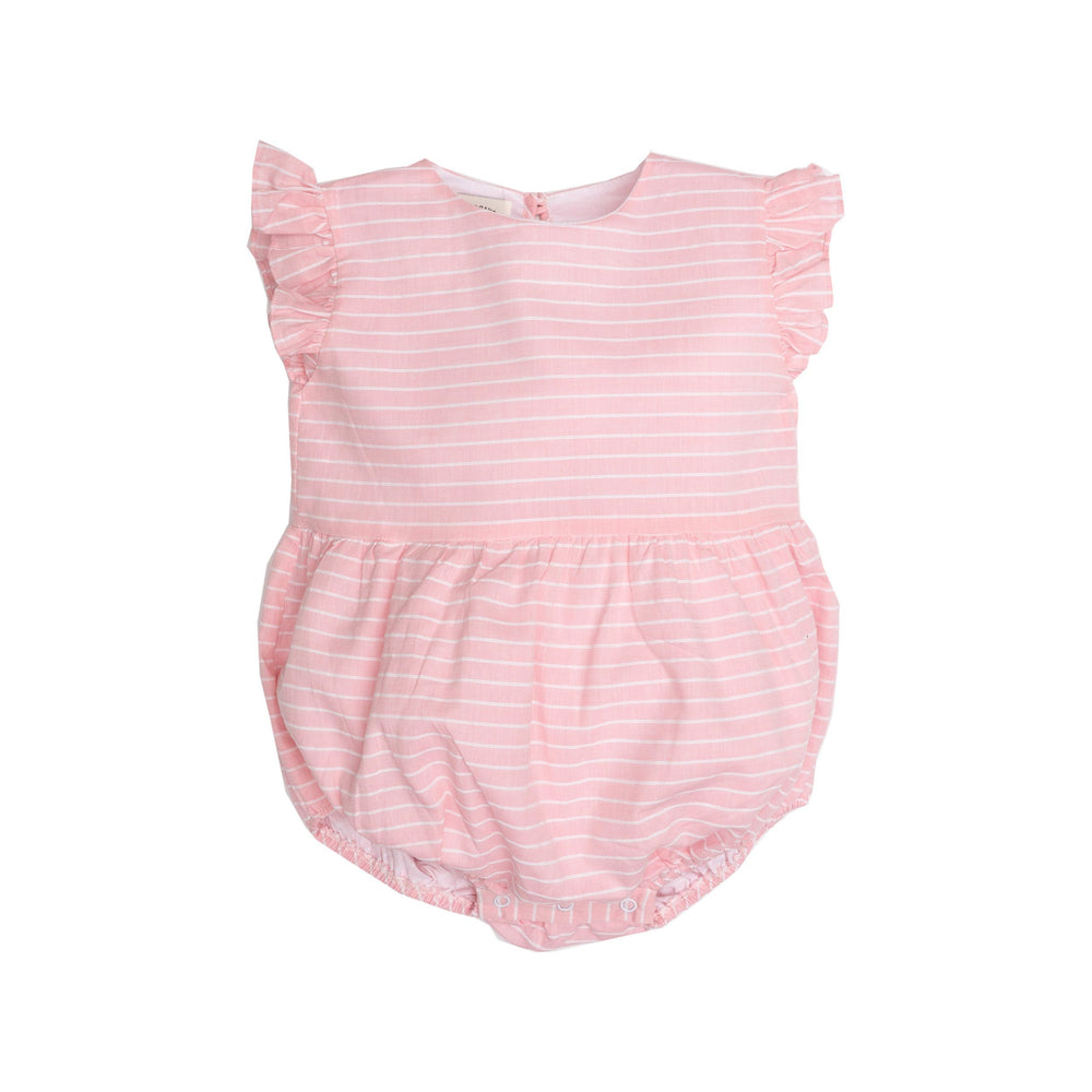Kinsley Pink Striped Bubble