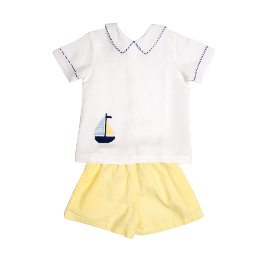 Chuck Sailboat Short Set