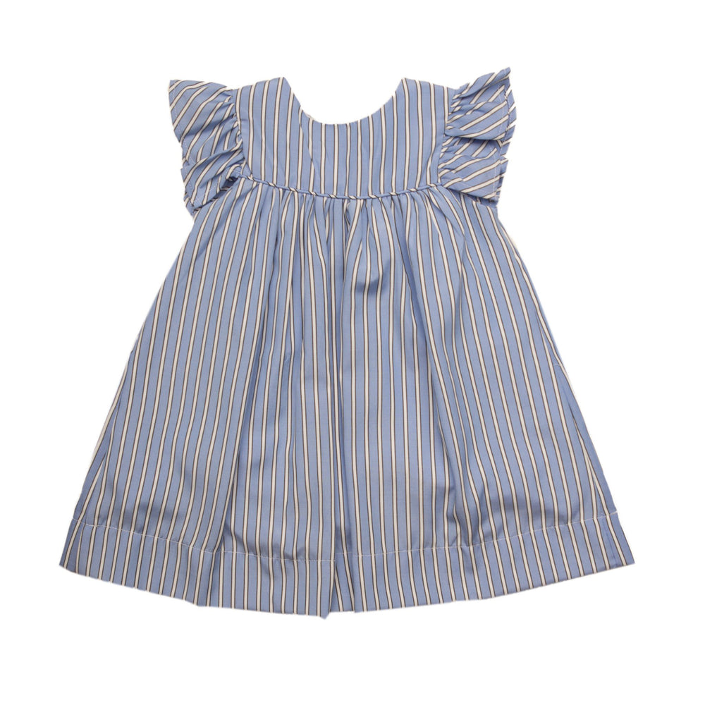 """Sadie Blue Stripe Dress"""
