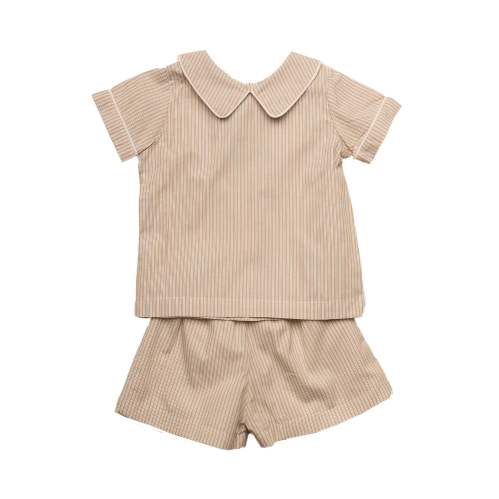 """Paxton Tan Short Set"""