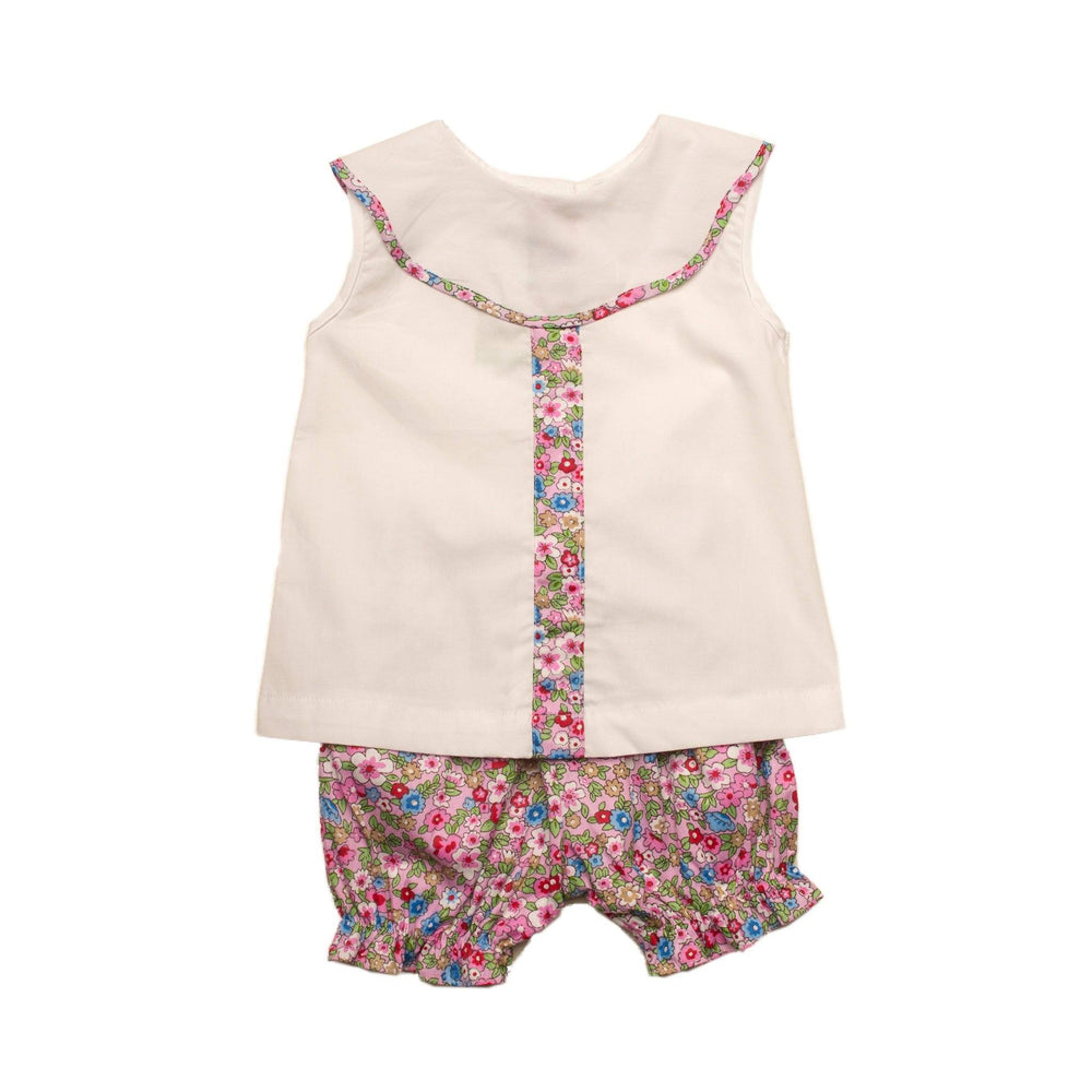 """Elenore Floral Bloomer Set"""