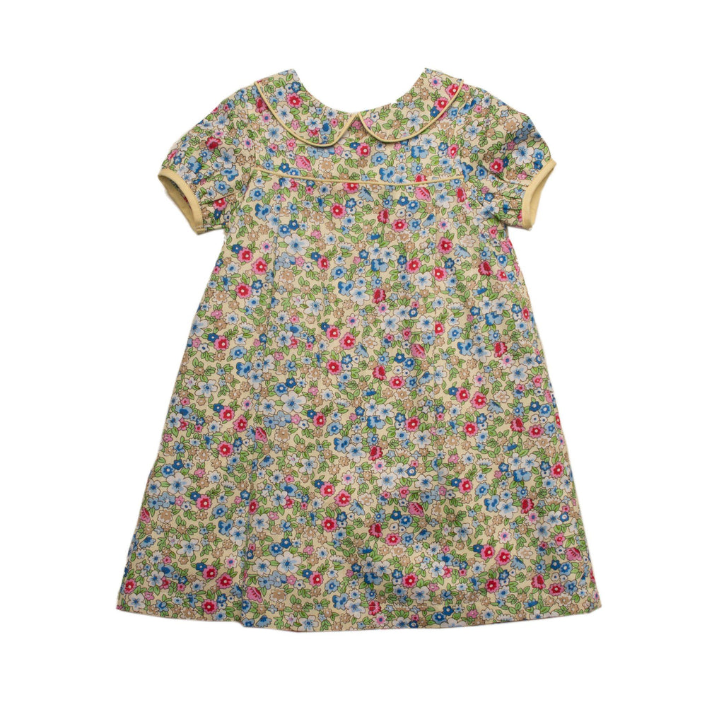 """Marcie Yellow Floral Dress"""