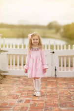 Alicia Pink Cord Dress