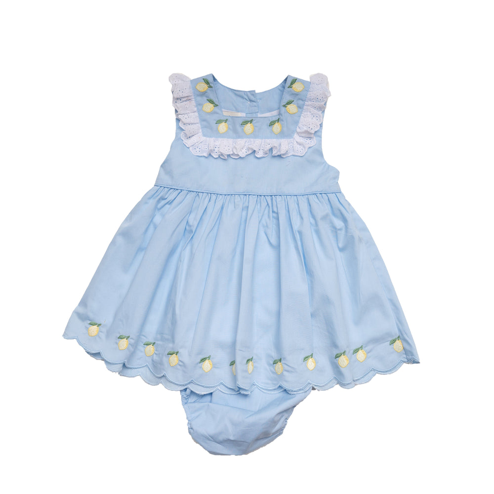 Zadie Blue Lemon Set