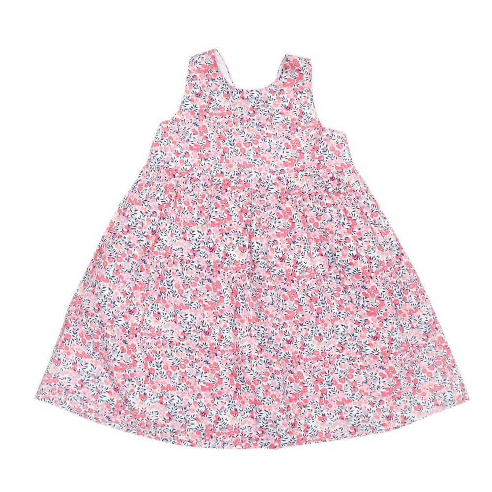 Paisley Pink Poppy Tie Dress