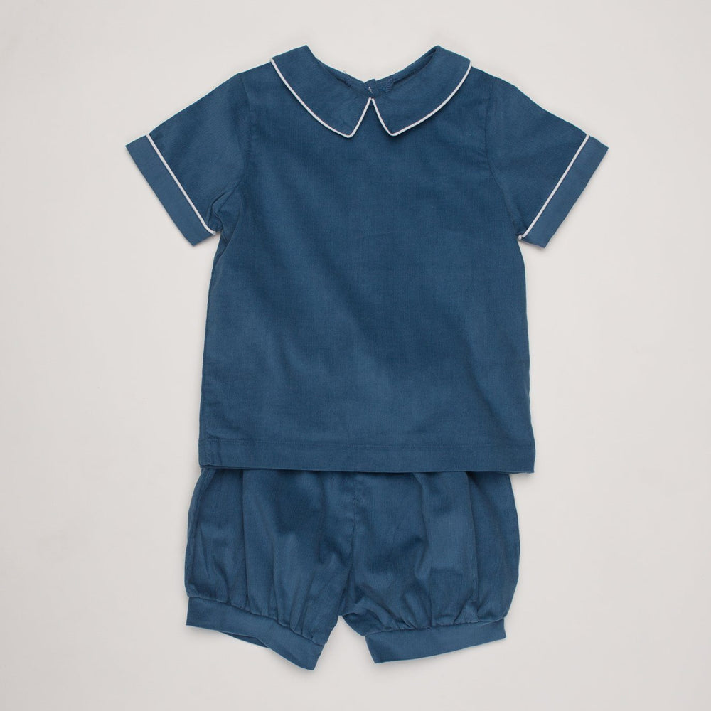 Richard Classic Blue Short Set