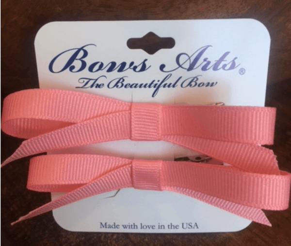 Premium Bows - 1 Custom Grosgrain Ribbon on Clippy