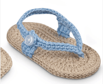 Jefferies Girls Crocheted sandals