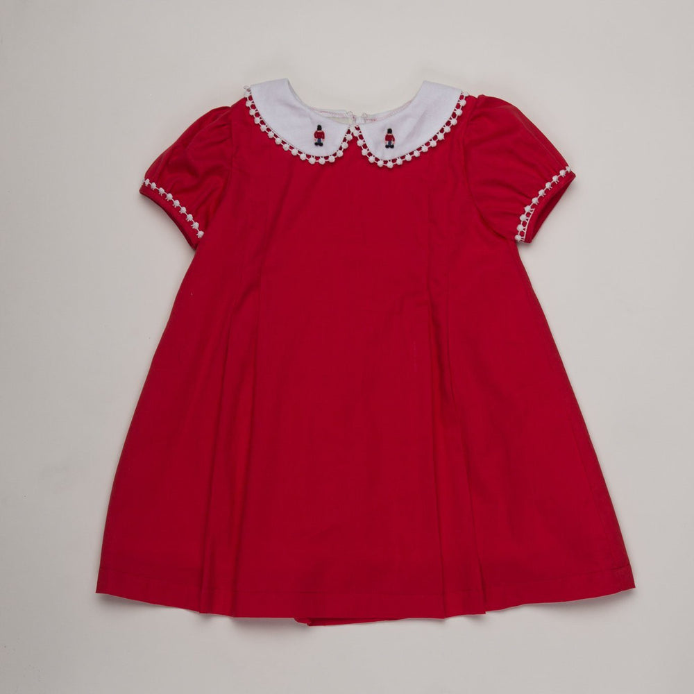Sharon Red Toy Soldier Dress