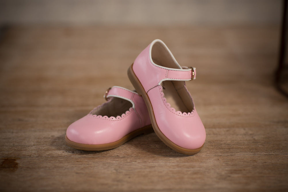 Mary Jane Pink Shoes