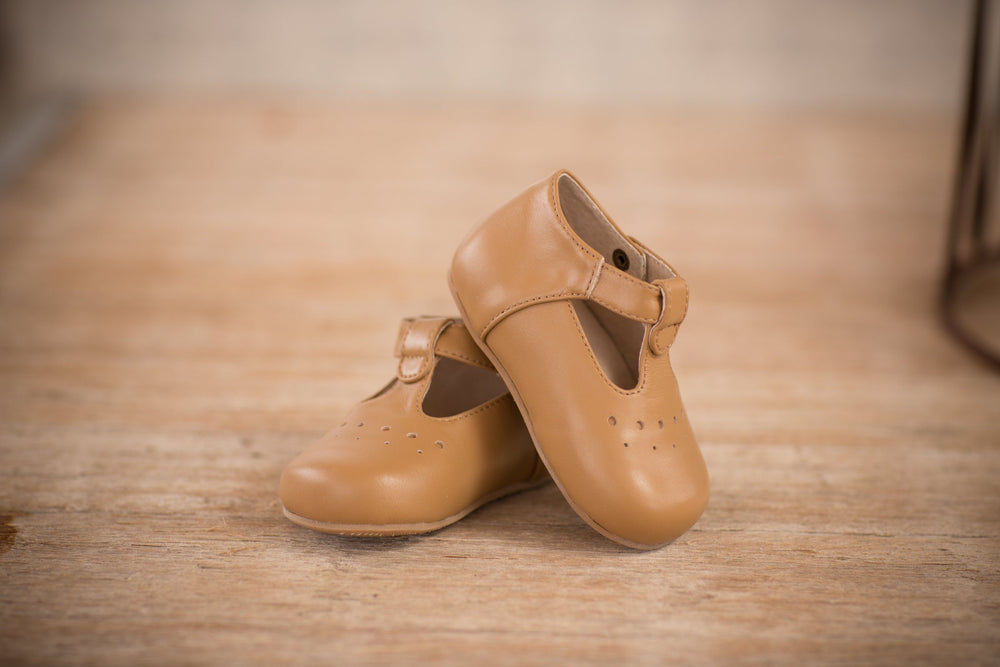 Oaks Tan Baby Shoes