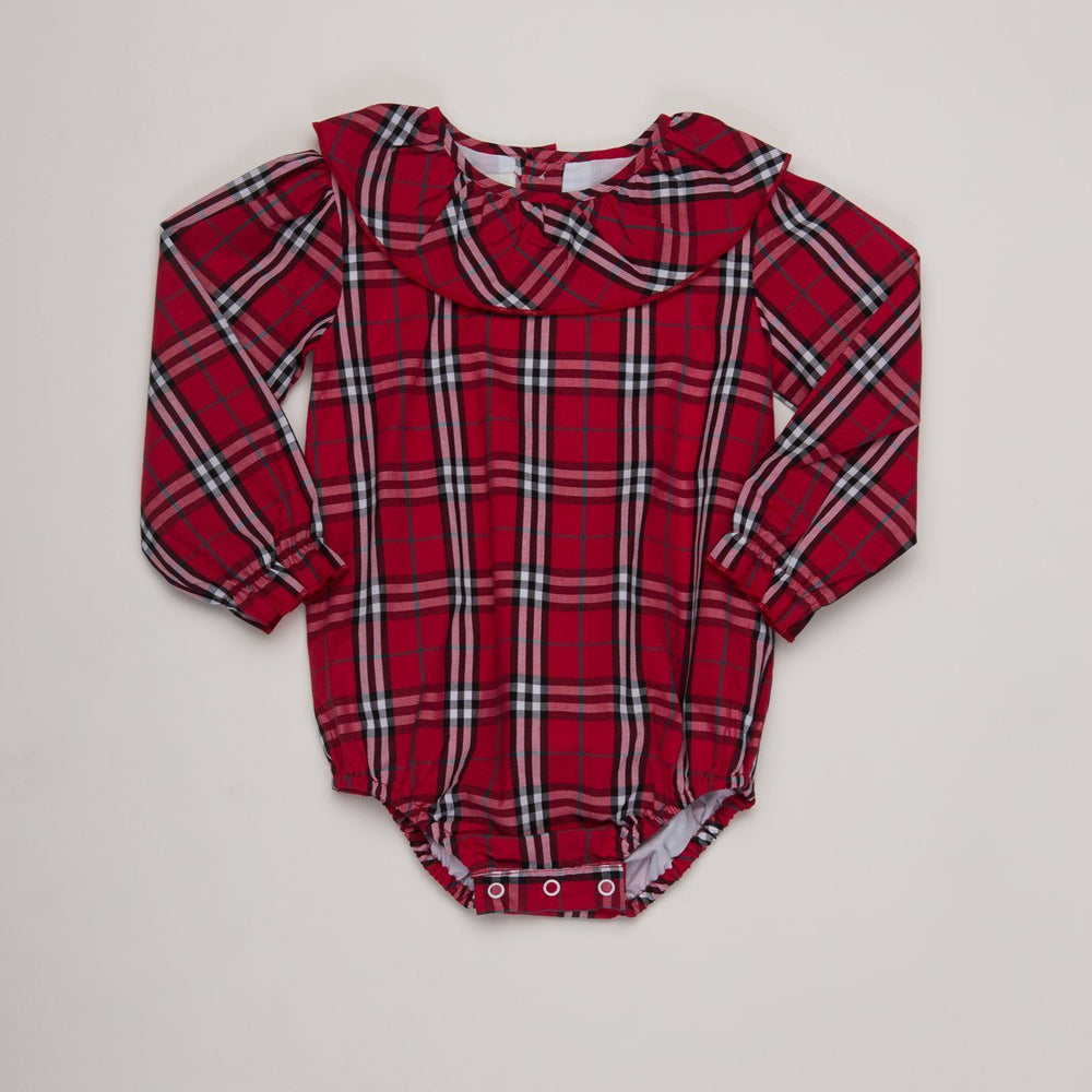 Susan Red Tartan Bubble
