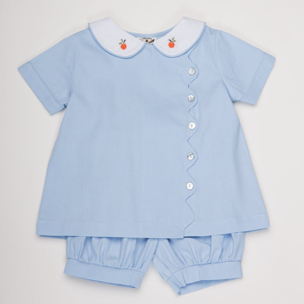 Tanner Blue Pumpkin Short Set