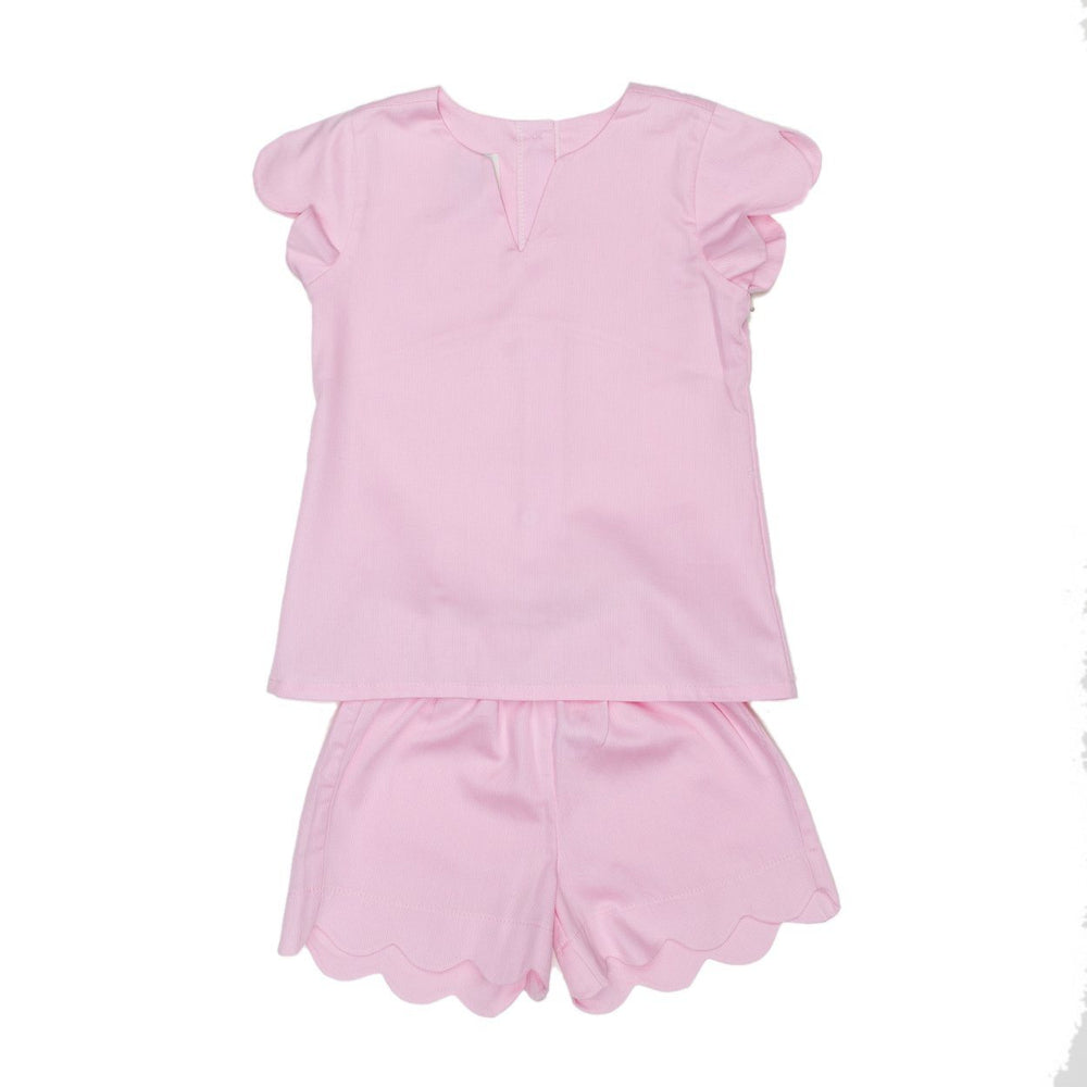 Lucille Mom Short Set Pink