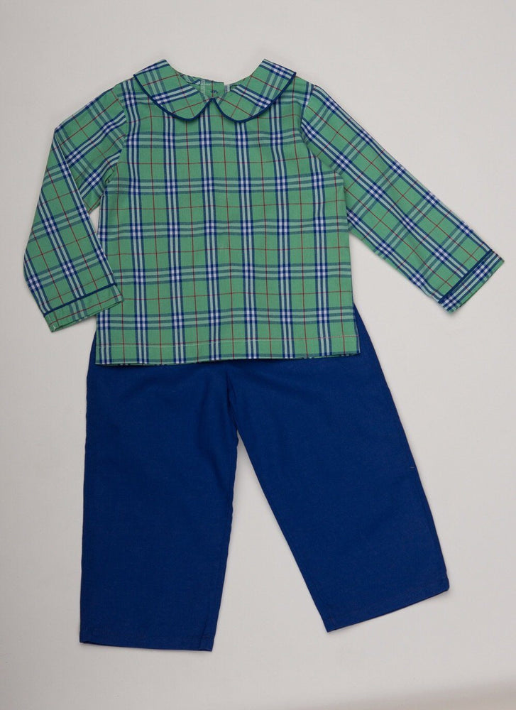Jason Kelly Tartan Pant Set