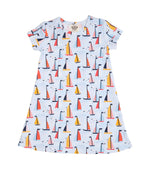 Mary Chase Pima Sailboat Dress
