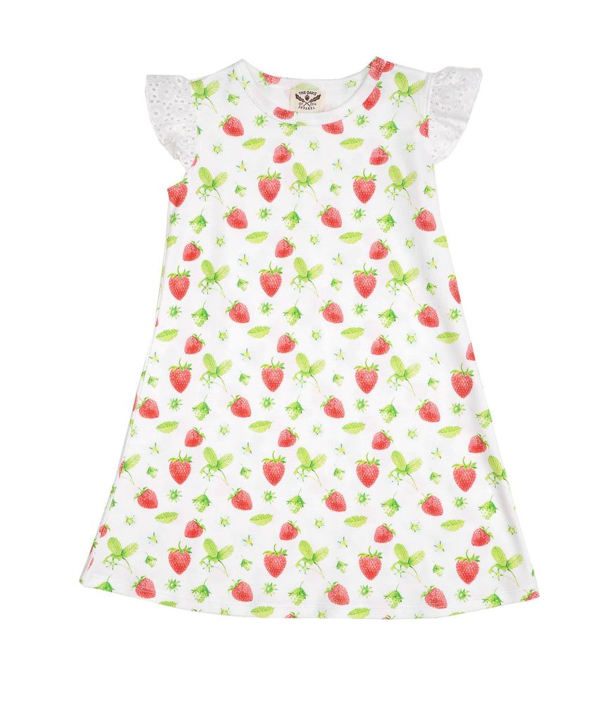 Mary Kathryn Pima Strawberry Dress
